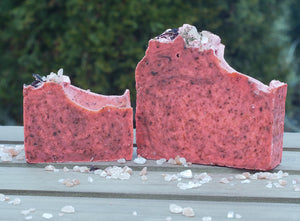 Hibiscus & Green Tea Soap