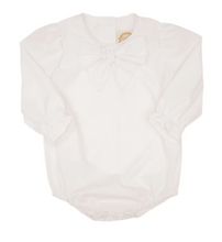 Load image into Gallery viewer, Beatrice Bow Blouse-White