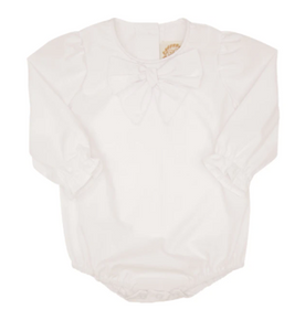 Beatrice Bow Blouse-White