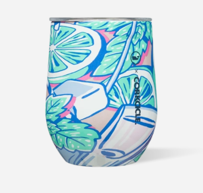 Wine Cup-Vineyard Vines, Mint Julip