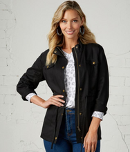 Load image into Gallery viewer, Porter Black Utility Jacket