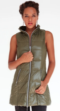 Load image into Gallery viewer, Olive Down Vest