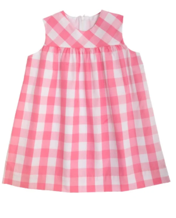 McFerran Frock-Pink Chattanooga Check