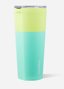 Color Block Tumbler 24OZ-Limeade