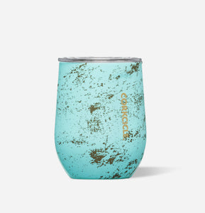 Stemless Wine Cup-Bali Blue