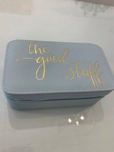 Jewelry Box Case-blue