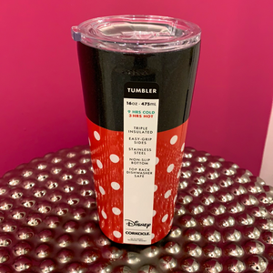 Minnie Polka Dot Tumbler-16oz