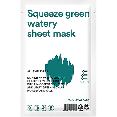Squeeze Green Watery Sheet Mask