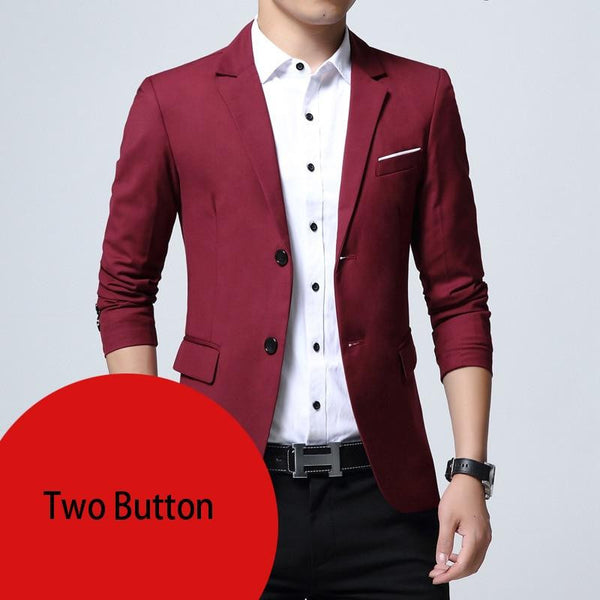 Slim Fit Elegant Blazer - dirtprice