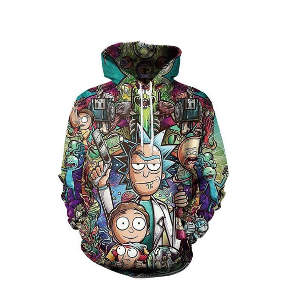 Rick and Morty Hoodies - dirtprice