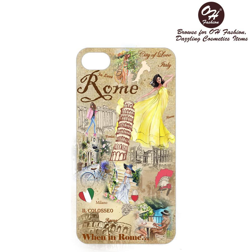 OH Fashion iPhone case PLUS 8/7/6S When in Rome