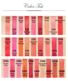 Catkin ™  Nutrivous Luxury Moisturizing Lipstick - Coral Pink