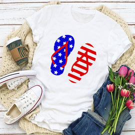 Flip Flop Flag Women's T-Shirt