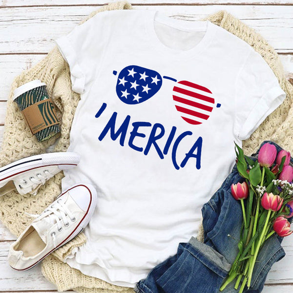Sunglasses & 'Merica Women's T-Shirt