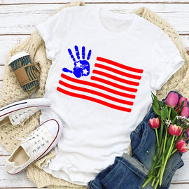 Hand On America Women's T-Shirt
