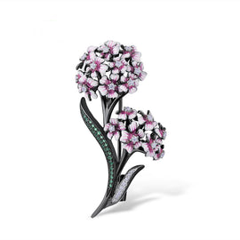 Handcrafted Baby's Breath Luxury Brooch