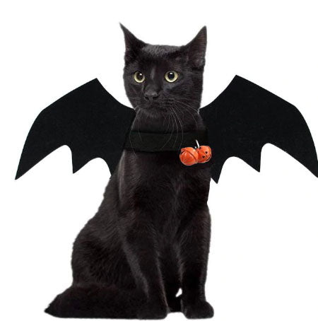 Handmade Kitty Bat (or Dog) Felt Bat Wings for Pets