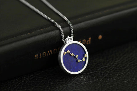 Handcrafted Big Dipper in Blue Lapis