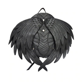 Mens Gothic Back Angel Wing Adjustable Backpack