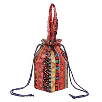 Boho Striped Bucket Tote - Available in 3 Colors!