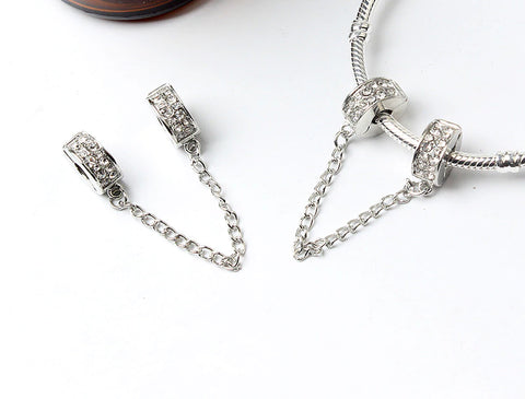 Cubic Zircon Safety Chain