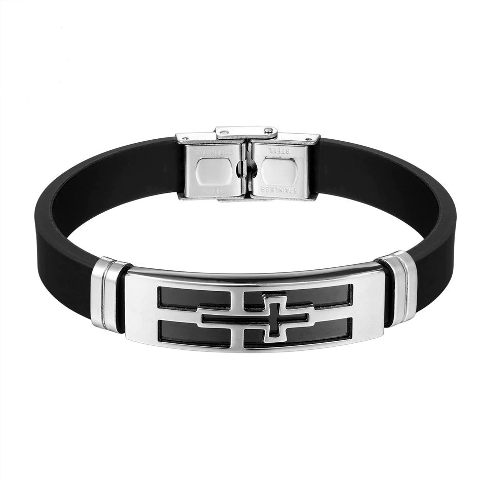 The Christoph :: Hand Crafted Mens Stainless Bracelet