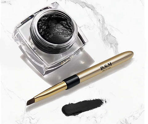 D.S.M. Pro-Series  Liquid gel Eye Liner & Brush