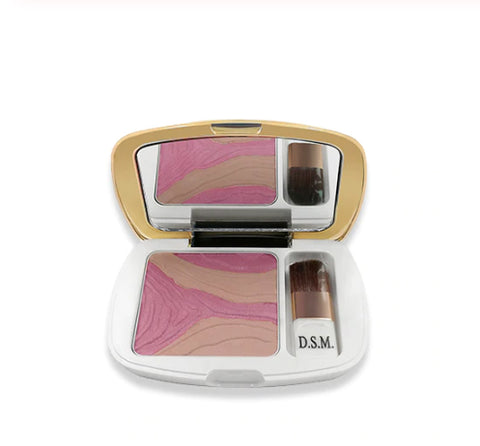 D.S.M. All Natural Premium Pro-Series Blush/Highlighter Combo  :: Available in 4 Colors