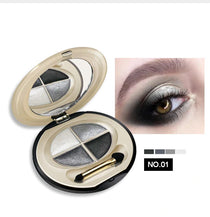 D.S.M. Professional Waterproof Mineral Eye Shadow Quad  :: Available in 4 Colors