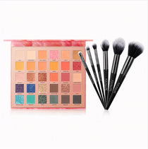FOCALLURE Endless Possibilities Eye Shadow Pallet - Free Pro Brush Set