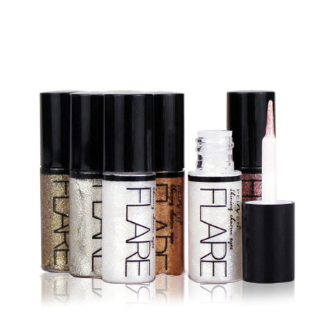 Flare Liquid Glitter Eye Liner - Available i n 5 Dazzling Colors
