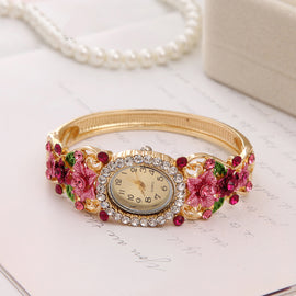 Flower Garden - Ladies Fashion Quartz Watch