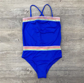 Girls Tank Top Style Swimsuit