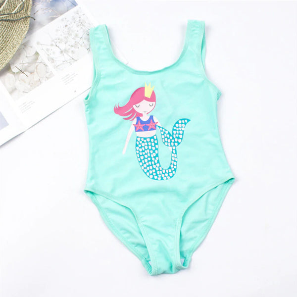 Girls Tiny Mermaid Swimsuit