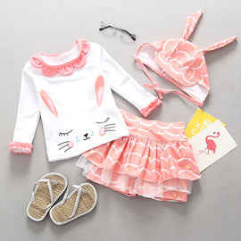 Baby & Toddler Long Sleeve Surf Set - 12M - 4T