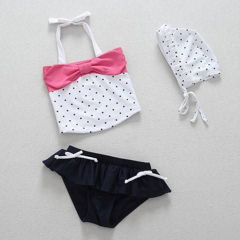 Little Sophisticate Swimsuit Set  - 12M - 4T