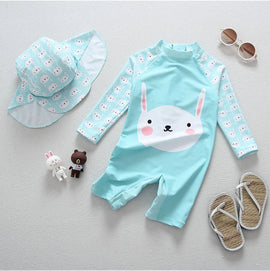 Blue Bunny UV Protection Surf Set - 6M - 4T