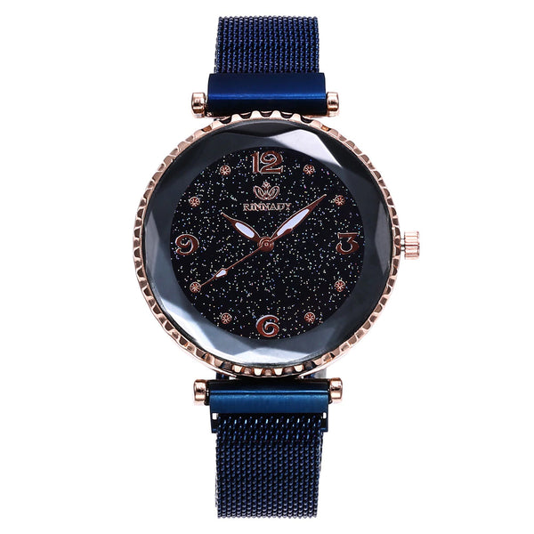 Ladies Geometric Night Sky Quartz Watch :: Available in 5 Colors