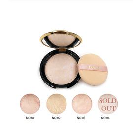 D.S.M Grecian All Pro-Series Natural Mineral Pressed Powder :: Available in 3 Colors