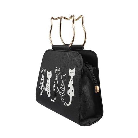 Kitty Handle Tote - Available in 4 Colors!