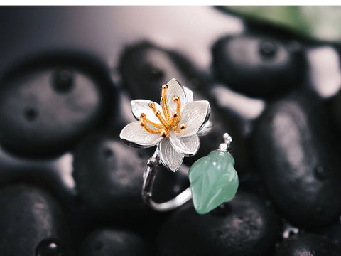Handcrafted Lotus Whisper Aventurine