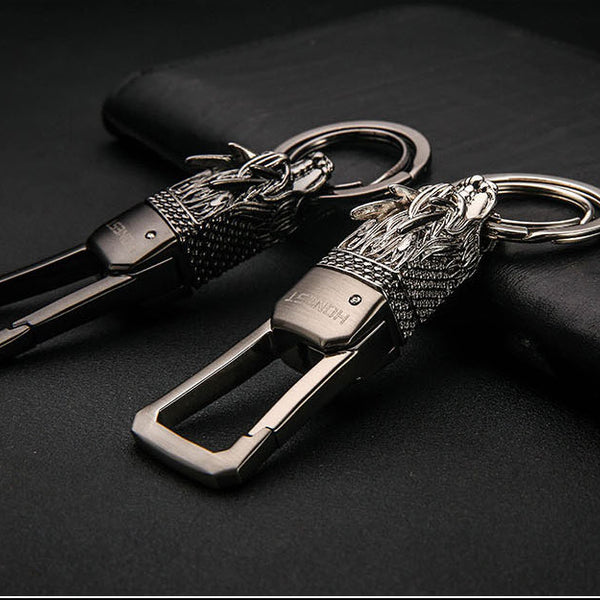 M-Style 2315 Dragon Totem I Men's Key Chain - Available in 3 Colors