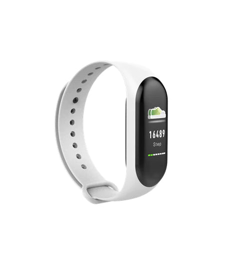 MFB2212 Men's Pro Full Feature  Waterproof Fitness Band   :: Available in 3 colors!
