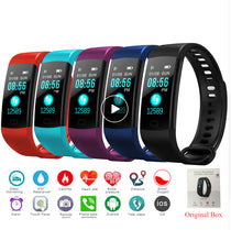 MFB2213 Y5 Smart Band Heart Rate Tracker Fitness Tracker  :: Available in 5 colors!