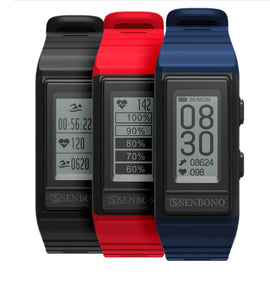 MFB2216 SENBONO Full Featured GPS Unisex Fitness Band - Available in 3 Colors
