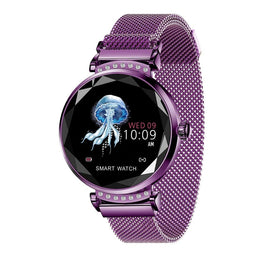 Model 1147 Womens Flower Cut Fashion Sports/Smart Watch - Available in 4 Colors