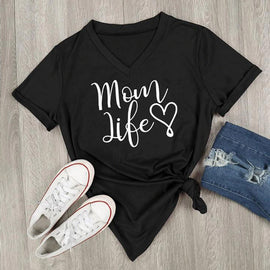 Mom Life Whimsy T-Shirt - Available in 4 Colors!