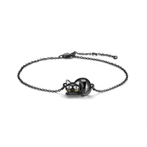 Naughty Collection - Kitty Bracelet  - Genuine 925 Sterling Silver