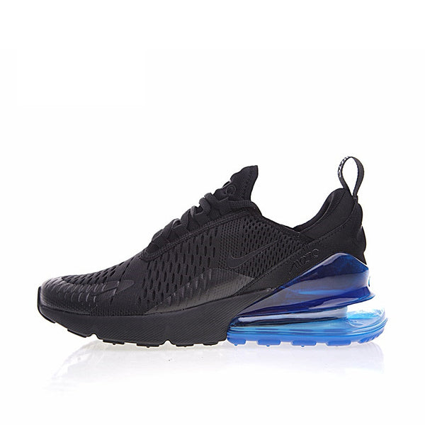 Nike Air Max 270 Men's Running Shoes - Black/Blue :: BEST SELLER!
