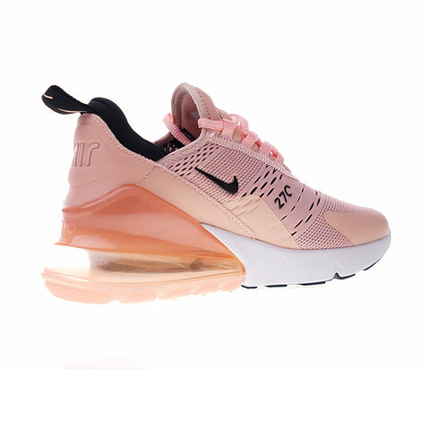 Nike Air Max 270 Women's Running Shoe's -Pink/Black Swish
